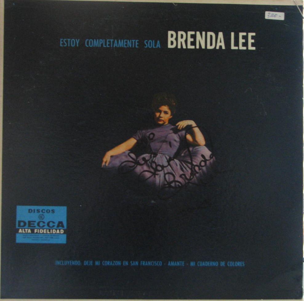 Brenda Lee My Coloring Book Lyrics Argentina Lp S Cd Ep